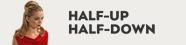 Half Up Half Down