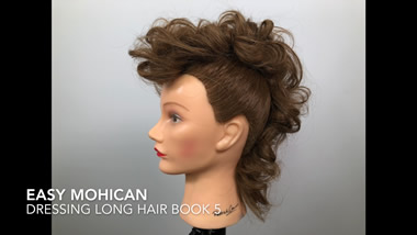 Easy Mohican Tutorial